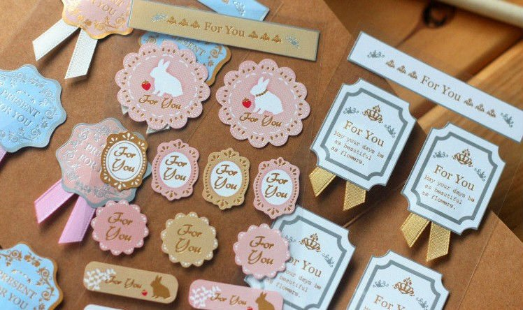 Wedding Invitation Envelope Seal Up Stickers For You