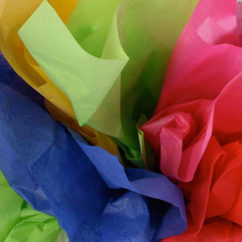 Solid Colour Paper Wrap Tissue
