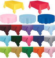 Plain Plastic Party Table Cover  sc 1 st  wedding favors & Plain Plastic Party Table Cover - We celebrate your life events in style