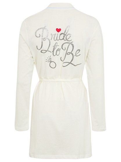 330e04da4 Bride to be Dressing Robe - We celebrate your life events in style