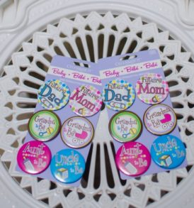 Celebrate it Baby Shower Badges