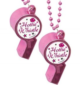 Hottie Whistle Party Bead Necklace