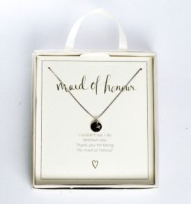 Maid of Honour Silver Necklace