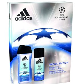 Adidas UEFA Arena Edition Body Spray & Shower Gel Gift Set