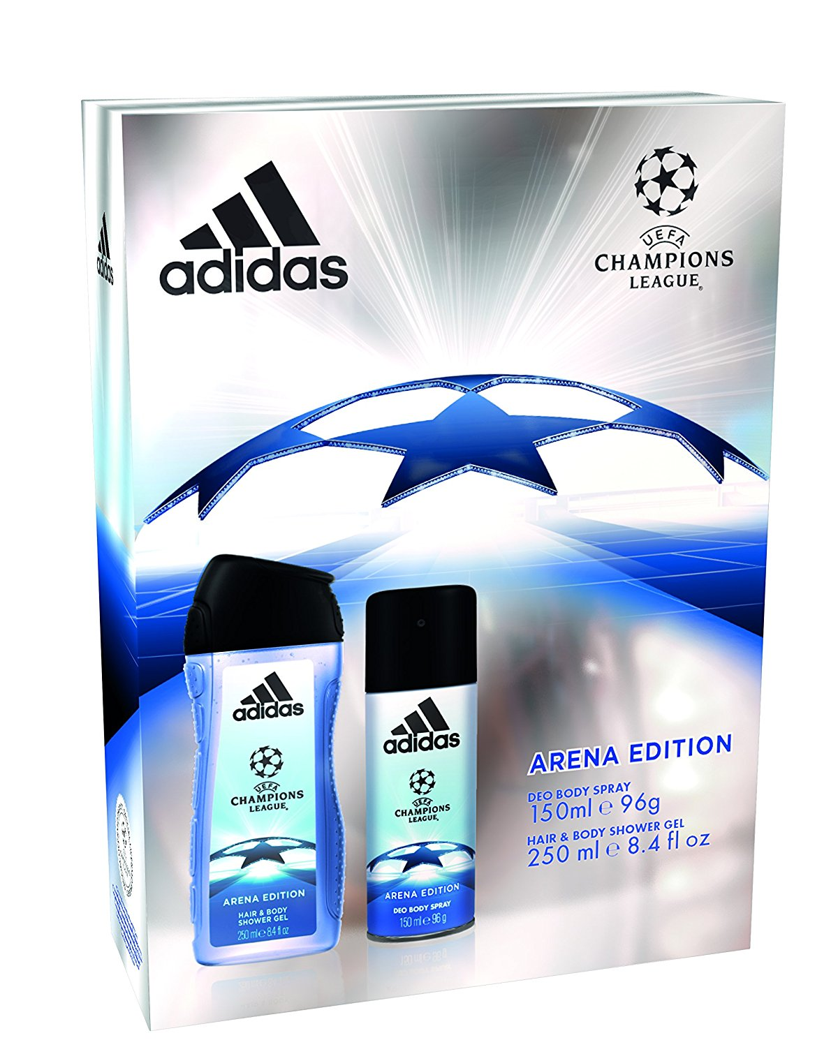 23dc3a57ffd Adidas UEFA Arena Edition Body Spray & Shower Gel Gift Set - We celebrate  your life events in style