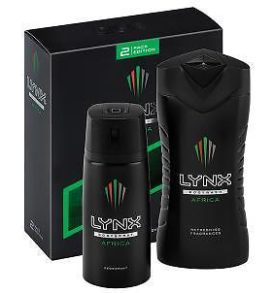 Lynx Collection Africa Body Spray & Body wash
