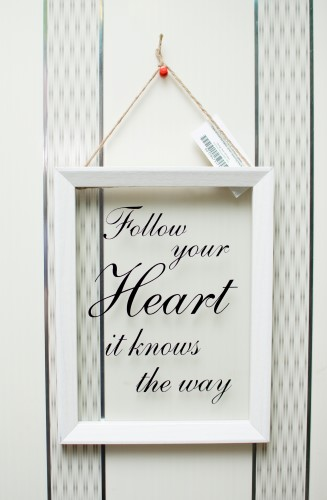 f96dce8d356e Follow Your Heart Glass Frame - We celebrate your life events in style