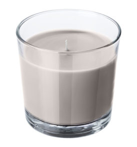 Grey Nutmeg & Vanilla Scented Candle