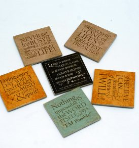 Inspirational Ceramic Plaque