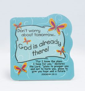 Scripture Wooden Plaque