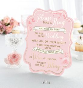 Game ideas for bridal shower
