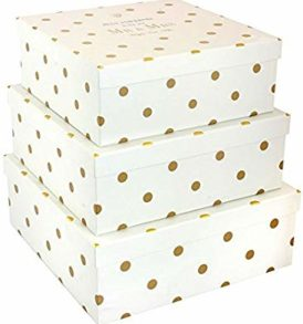 Mad dots set of 3 Gift Boxes