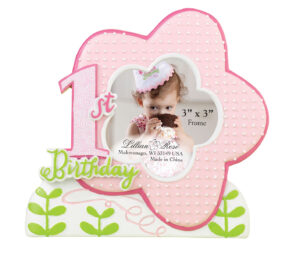 1st birthday girl picture Frame