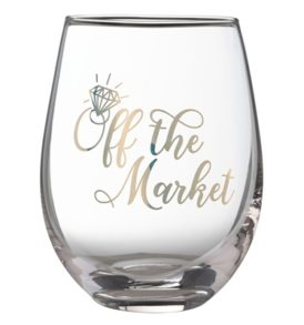 Engagement Wine Glass
